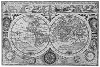 Francis Drake's World Map