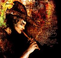 Le joueur de flute de Hamelin (Allemagne)