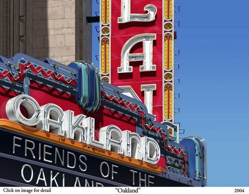 Oakland - Bert Monroy